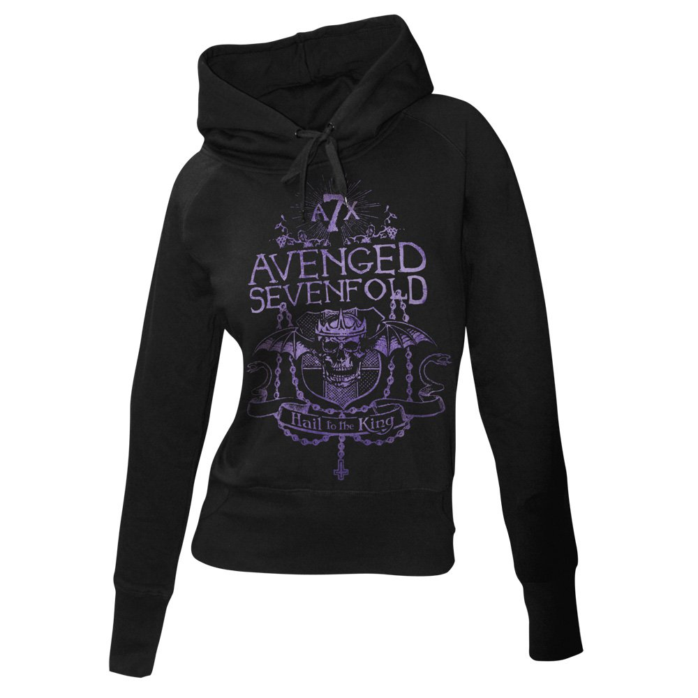 Avenged Sevenfold Girls Hoodie - Kings Prayer Kapuzenpullover, 49,90