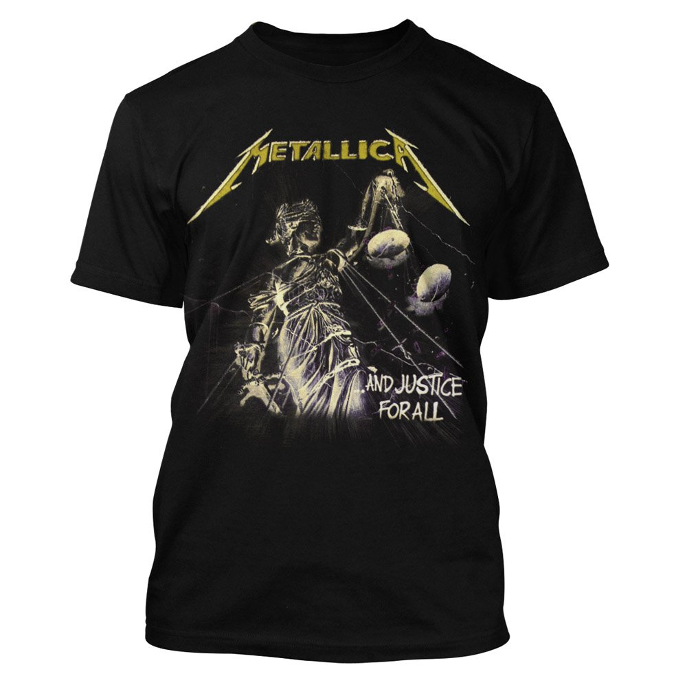 metallica t shirt and justice 19 90. Black Bedroom Furniture Sets. Home Design Ideas