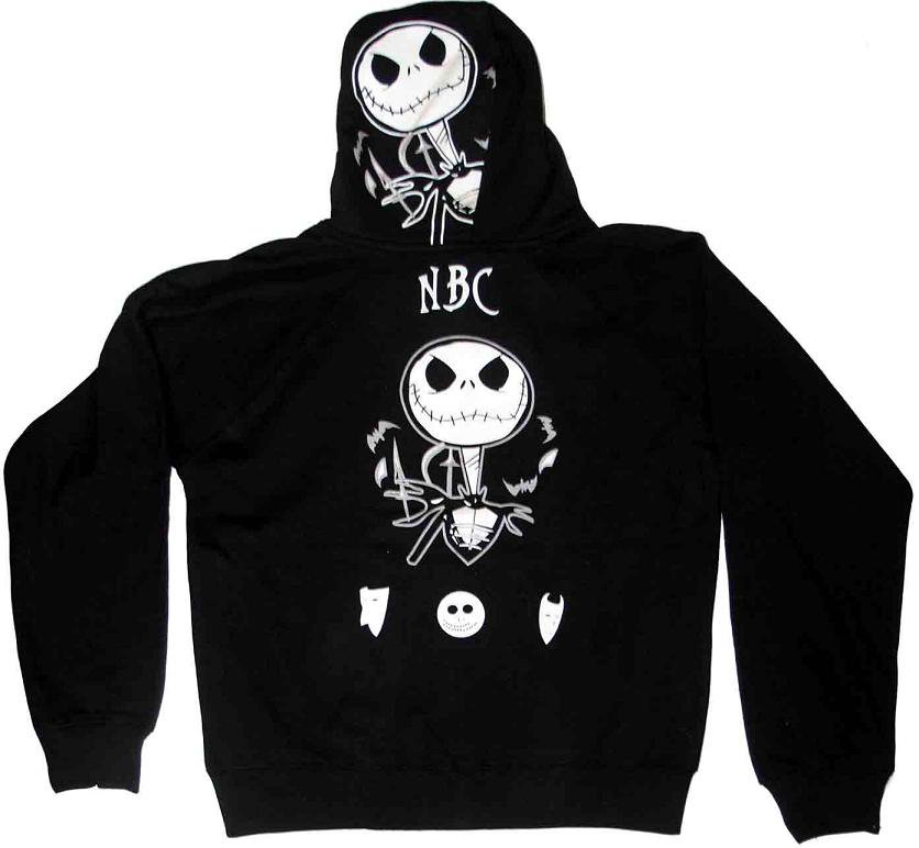 Nightmare Before Christmas Hooded Jacket Jack Small barbed wire, 29,9