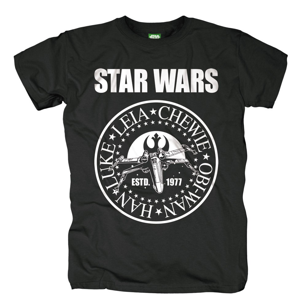 star wars t shirt seal 19 90. Black Bedroom Furniture Sets. Home Design Ideas