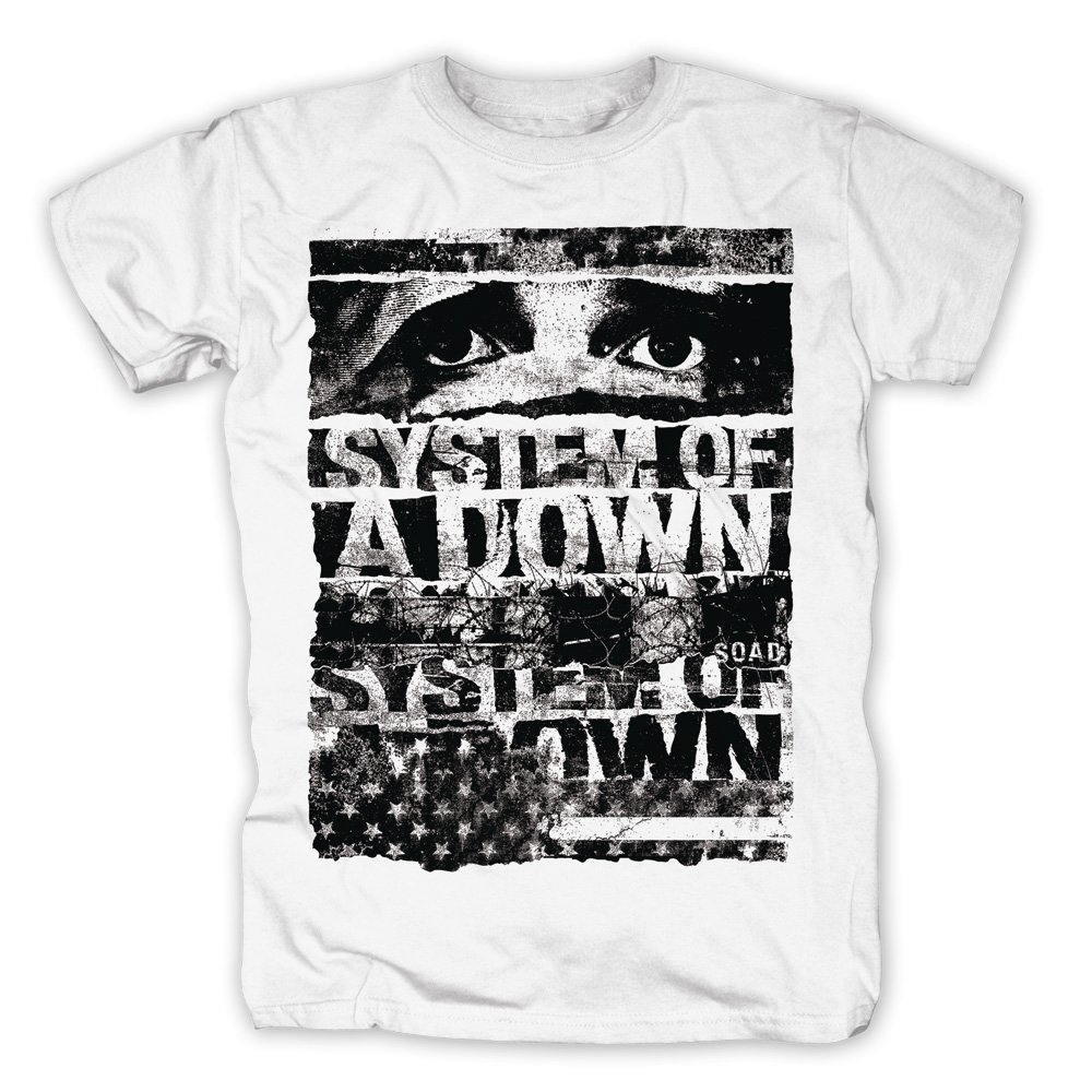 system of a down t shirt torn 19 90. Black Bedroom Furniture Sets. Home Design Ideas