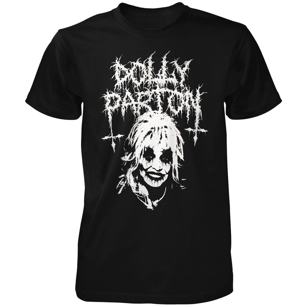 Toxico T Shirt Black Metal Dolly 19 90