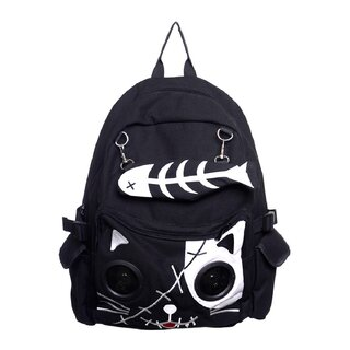 Banned  Backpack with Speakers - Cat