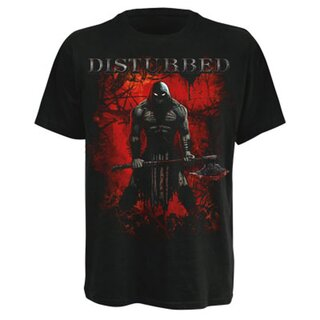 Disturbed Band T-Shirt - Axe Somebody S