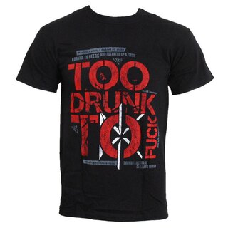 Dead Kennedys Band T-Shirt- Too Drunk