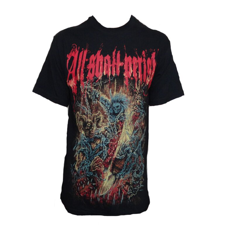 All Shall Perish Band T-Shirt - Chains XL