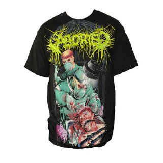 Aborted Band T-Shirt- Butchered Lobotomy