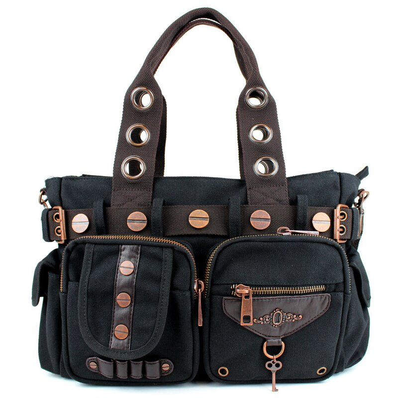 Banned - Handbag / Shoulder Bag Black