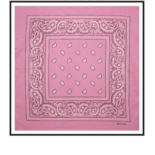 Bandana - Paisley Light Pink
