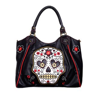 Banned - Sugar Skull Shopper Handtasche