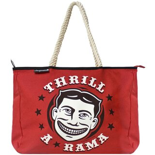 Sourpuss Thrill A Rama Rope Tote Bag