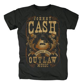 Johnny Cash T-Shirt - Memphis Outlaw