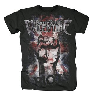 Bullet for my Valentine T-Shirt - Union Jack Riot