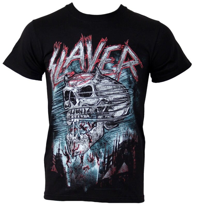slayer t shirt demon storm 19 90. Black Bedroom Furniture Sets. Home Design Ideas