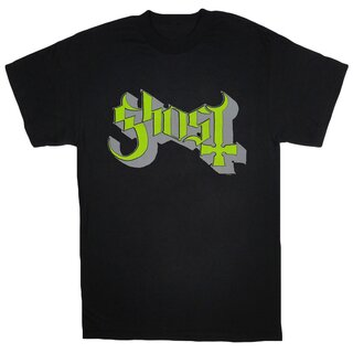 Ghost T-Shirt- Green Keyline Logo