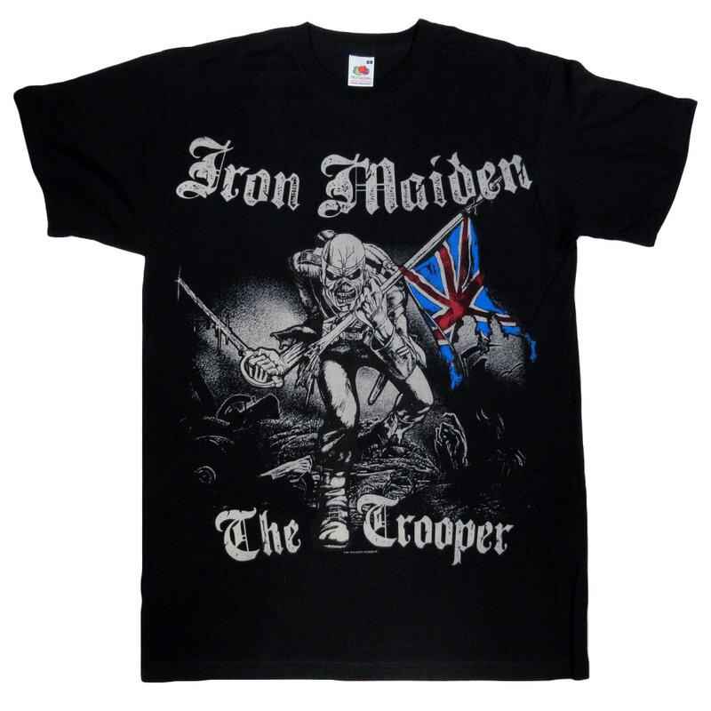 Iron Maiden T-Shirt - Sketched Trooper S