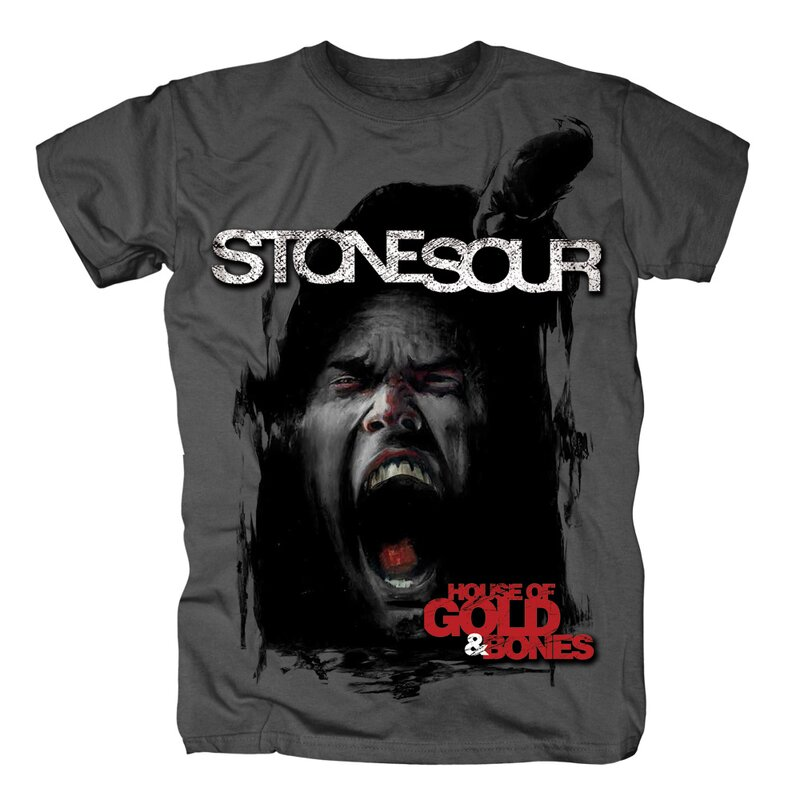 Stone Sour T-Shirt - House of Gold and Bones  S