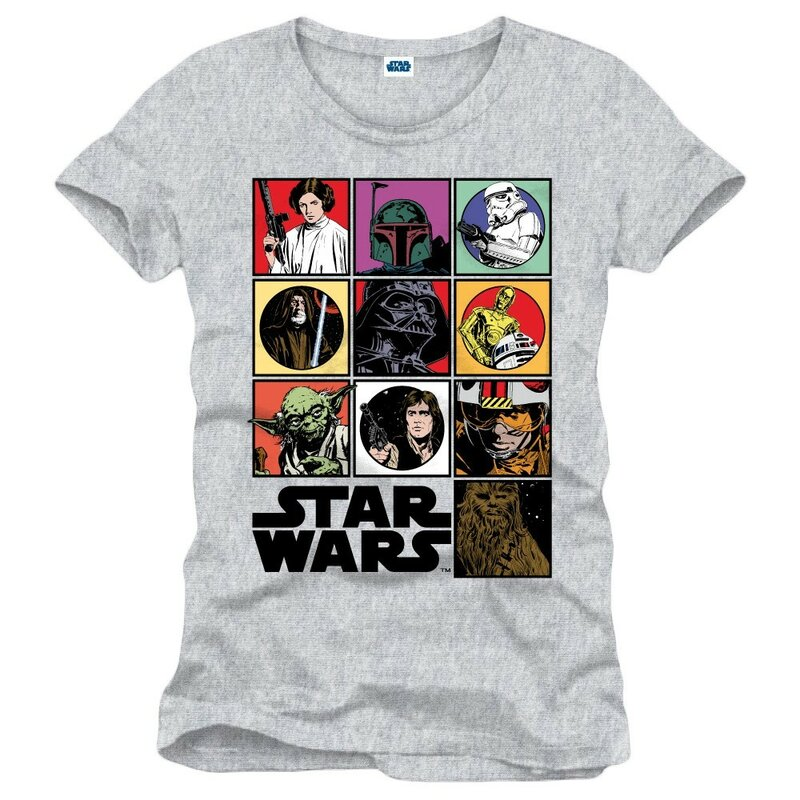 Star Wars T-Shirt - Icons S