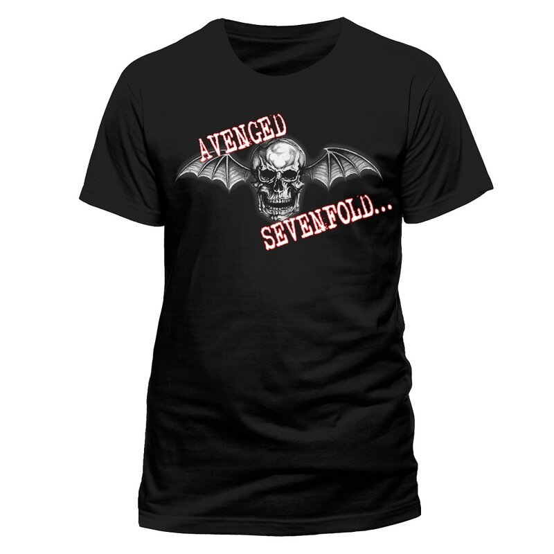 Avenged Sevenfold T-Shirt - Death Bat  L