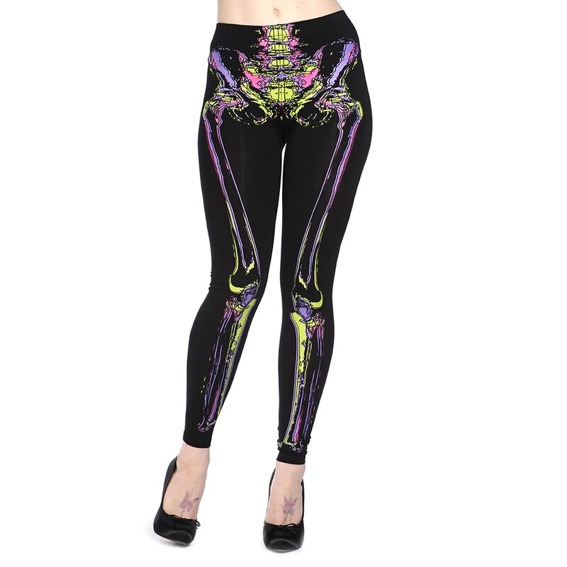 Banned Skelett Knochen Leggings Bones, € 12,90