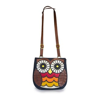 Loungefly Denim Owl Bag