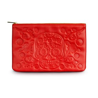 Loungefly Red Skull Clutch