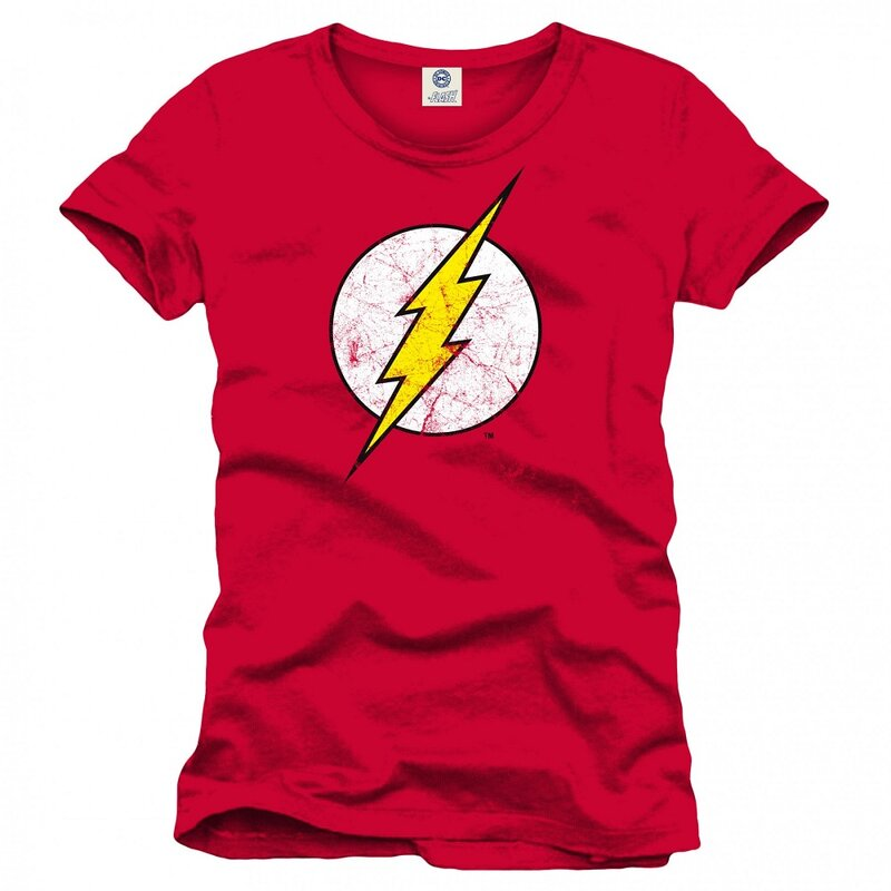 The Flash T-Shirt - Cracked Logo XXL