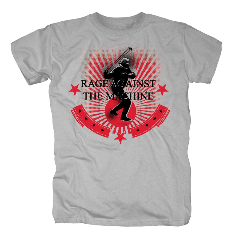 Rage against the Machine T-Shirt - Stone Thrower Redux S
