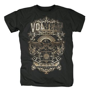 Volbeat T-Shirt- Old Letters