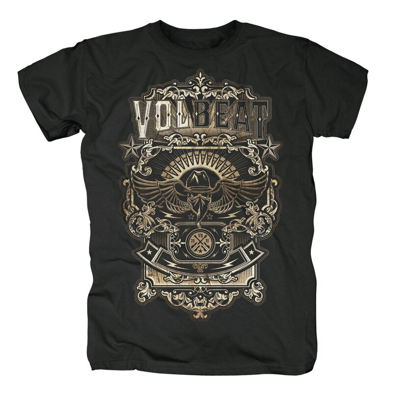 Volbeat T-Shirt- Old Letters XL
