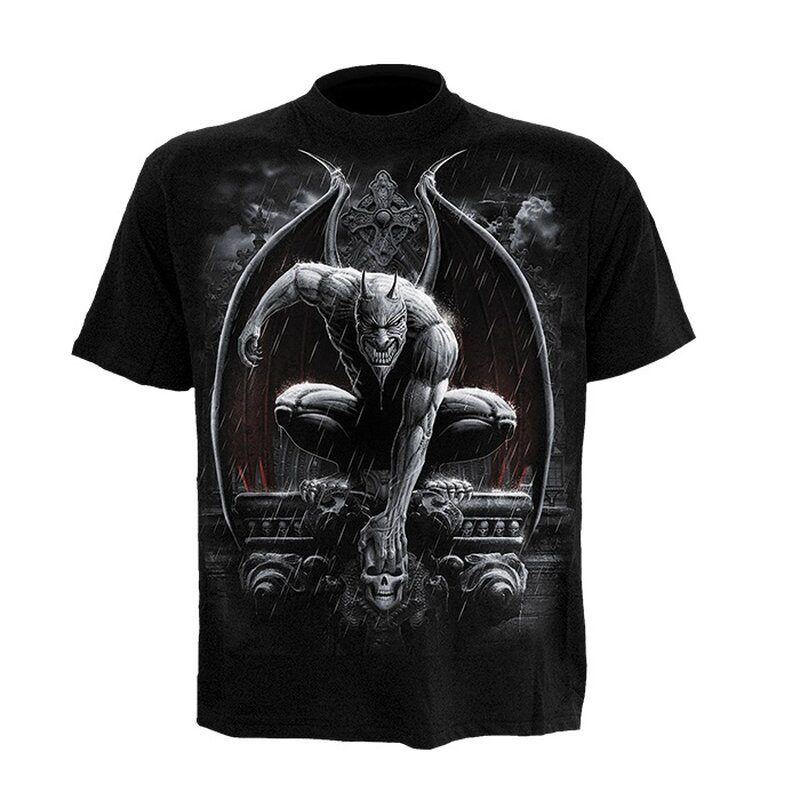 Spiral Mens T-Shirt - Stone Guardian S