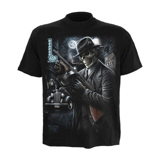 Spiral Mens T-Shirt - Gangster