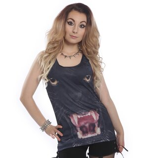 Cupcake Cult Girlie Tank Top -  Panther Vest