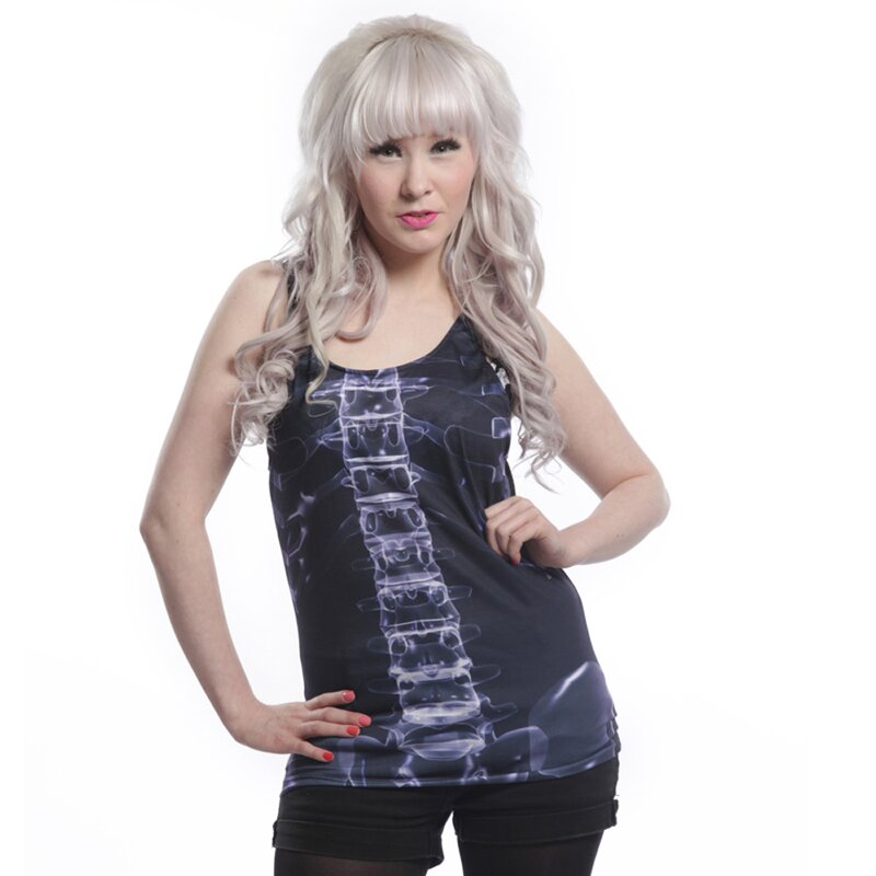Cupcake Cult Girlie Tank Top -  X-Ray Vest L