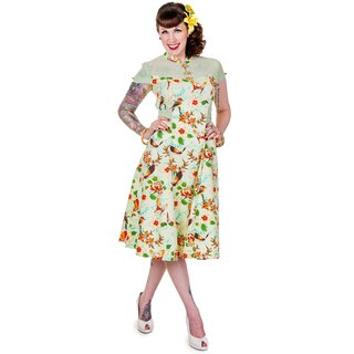 Banned Green Butterfly Dress