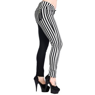 Banned White Striped Trousers