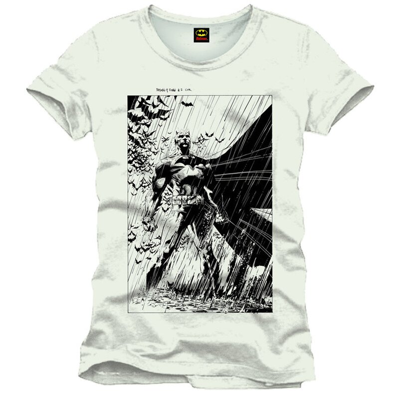 Batman Mens T-Shirt - Rain Cover S