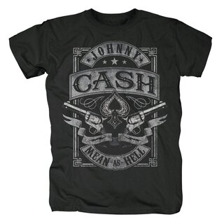 Johnny Cash T-Shirt - Mean as Hell