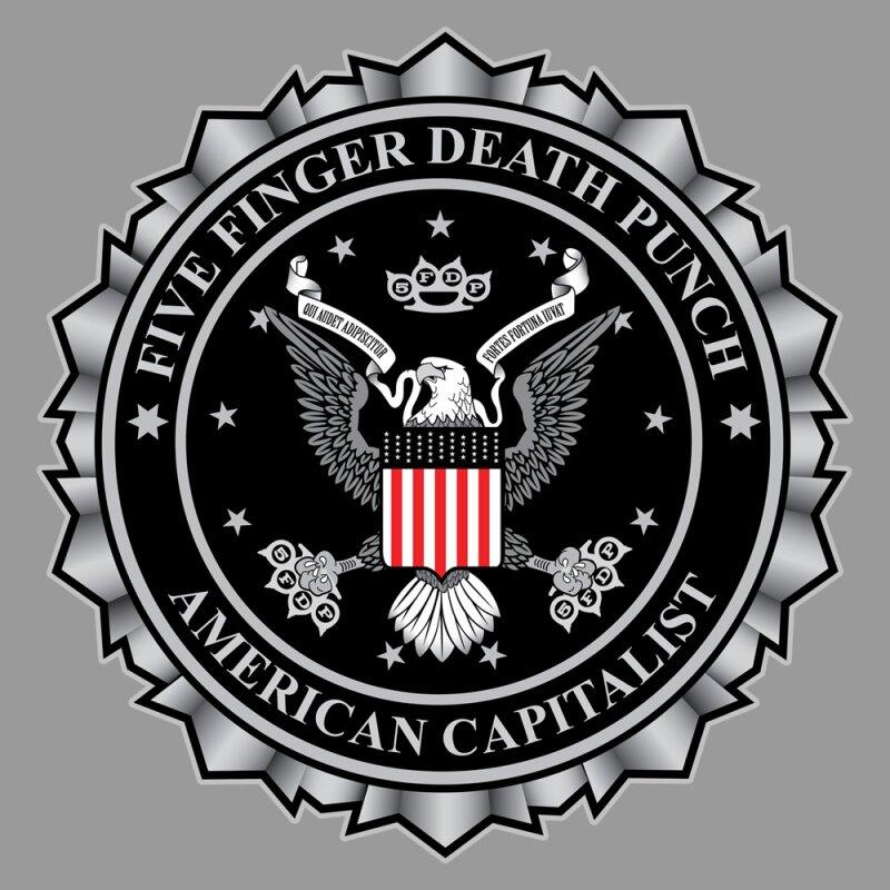 Five Finger Death Punch Eagle Logo