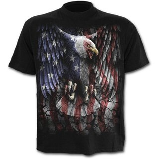 Spiral T-Shirt - Liberty Eagle