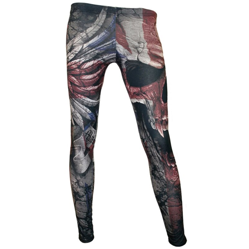 Spiral Leggings - Union Wrath M