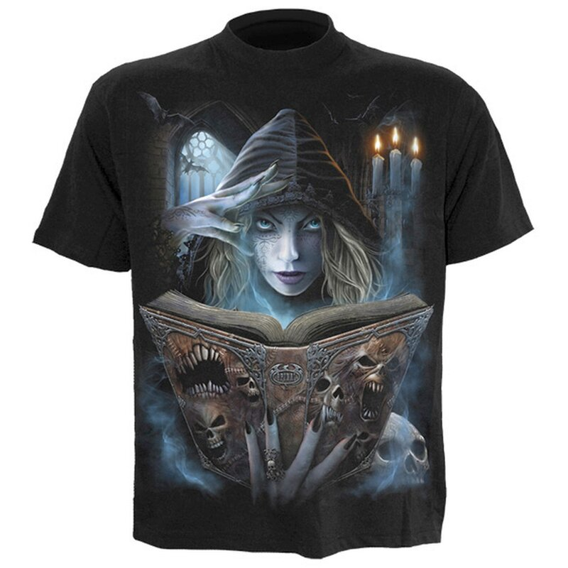 Spiral T-Shirt - Book of Flesh S