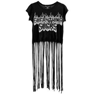 Killstar Fringe Top - Everything Sucks