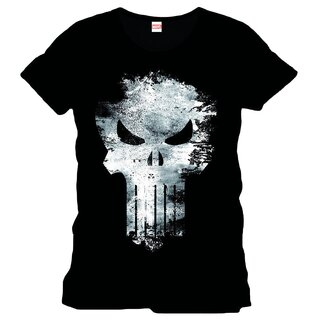 The Punisher T-Shirt - Distress Skull