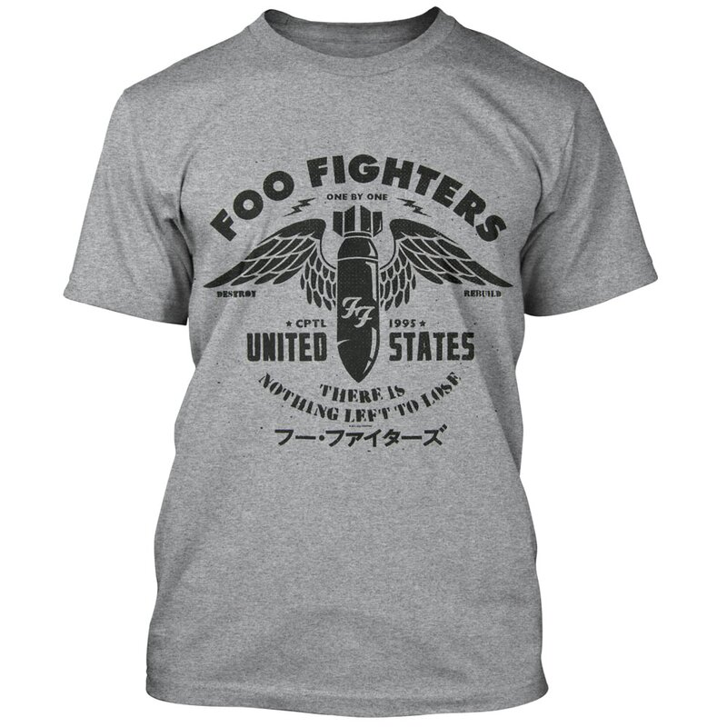 e6c1227b707a Foo Fighters T-Shirt - There Is Nothing Left To Lose
