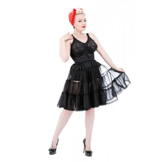 H&R London Petticoat - Medium Length Black