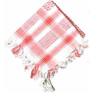 PLO / Keffiyeh Scarf - Red and White