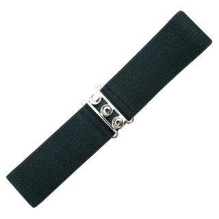 Banned Stretch Belt - Vintage Bond Black
