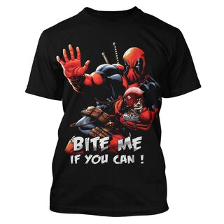 Deadpool T-Shirt - Bite Me If You Can