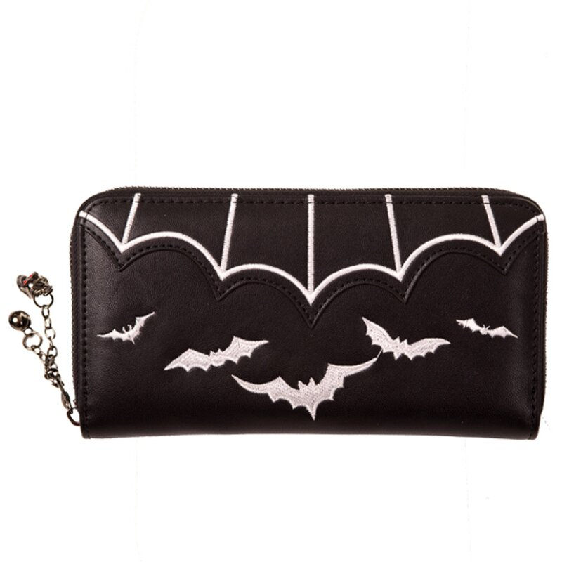 Banned Wallet - Bats White